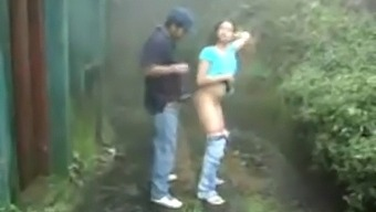 Www.Indiangirls.Tk Indian Girl Sucking And Fucking Outdoors In Rain
